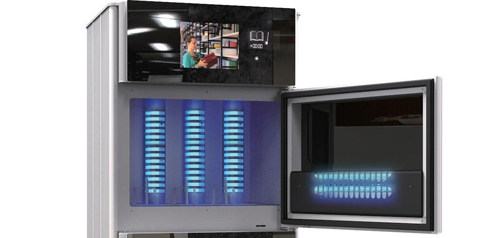 LIVA - Sterilizator UV de cărți și documente